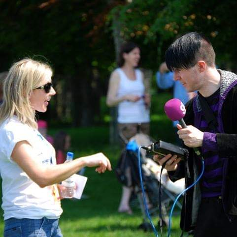 Interview with Dublin radio station